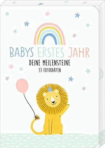 Fotokarten-Box - Meine kleine Welt - Babys erstes Jahr - Deine Meilensteine: 33 Fotokarten