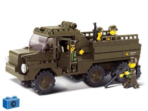 Sluban M38-B0301 - Baukasten - Armee -  Truck