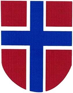 WW2 Norwegian Volunteer's II Helmet Decal Water Transfer for M35/M38/M40/M42
