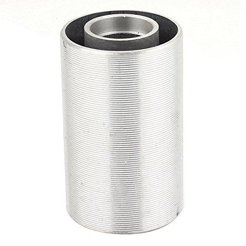 sourcingmap Tono de plata Cilindro tensión del rodillo con forma para Makita 9403 lijadora de banda