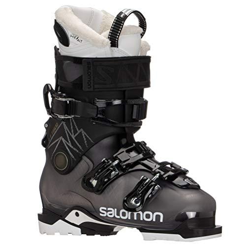 Salomon QST Access 80CH Ski Boots Womens Sz 8/8.5 (25/25.5) Blk/Anthracite/White