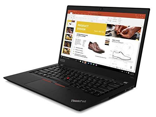 "Lenovo ThinkPad T490S 14"" FHD IPS Touchscreen Notebook - Intel Core i7-8665U 1.9GHz - 16GB RAM 512GB PCIe SSD - Fingerprint Reader - Backlit Keyboard - Windows 10 Pro, Black"