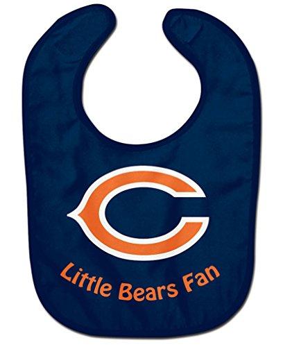 WinCraft NFL Chicago Bears WCRA2047314 All Pro Baby Bib
