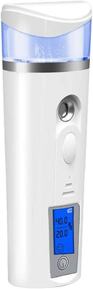 Nano Handy Mist Arlington Mall Spray Max 72% OFF Ionic Facial Moistu Steamer Skin with