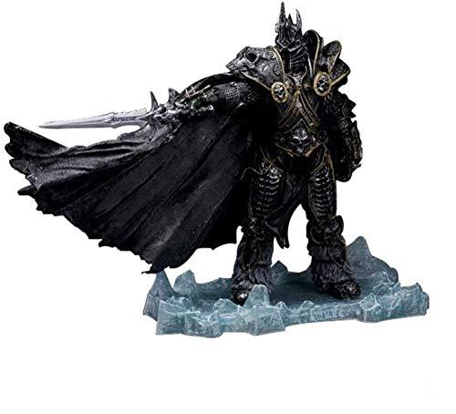LJXGZY Gift Unlimited World of Warcraft Deluxe Figura Coleccionable: The Lich King: Arthas Menethil-8.66in Coleccion Decoracion Modelo Regalo de cumpleanos Estatua