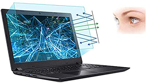"""17.3 Inch Screen Protector -Blue Light and Anti Glare Filter, FORITO Eye Protection Blue Light Blocking & Anti Glare Screen Protector for 17.3"""" with 16:9 Aspect Ratio Laptop"""