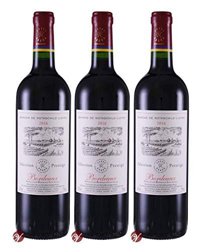 Rothschild (Lafite) Prestige Bordeaux AOC 2016 (3 x 0.75 l)