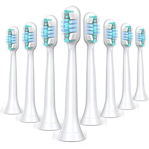 Ersatzbürsten Kompatible , Zahnbürstenaufsatz ProResults, Aufsätze Fit Diamond Clean, HealthyWhite, FlexCare, EasyClean