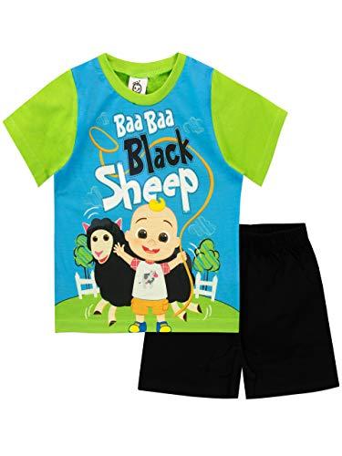 Cocomelon Pijamas para Niños Verde 2-3 Años
