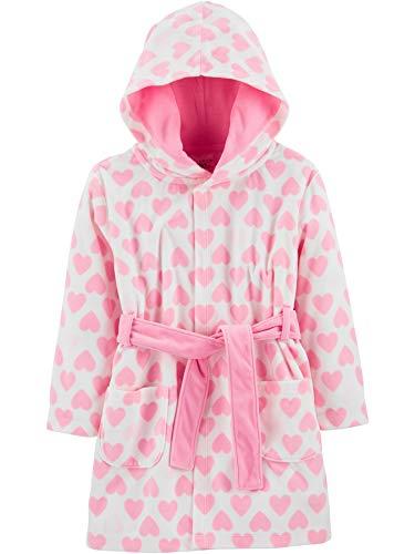 Simple Joys by Carter's Albornoz con Capucha Pajama-Tops, Rosa (Pink Unicorn), 4-5T