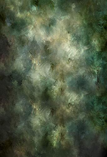 WaW Fotohintergrund Stoff Grunge Wand Abstrakt Fotografie Leinwand Studio Hintergrund Kulisse Kinder Baby Portrait Fotoshooting 1.5x2.2m