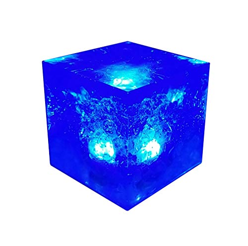Uyebros Tesseract Stone Replica Infinity Stone L-ki Cosplay Prop (Tesseract)