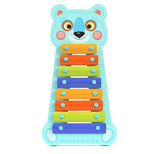 Great Features Of ROBDAE Xylophone for Kids Cute Perfect Kids Multi-Colored Bars Glockenspiel Toddle...