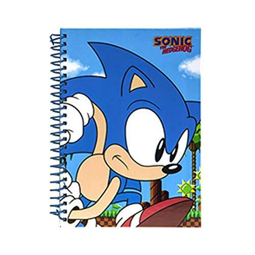 PMS - Quaderno A5, motivo classico Sonic, 12PC CDU 2 ASST