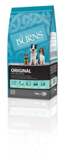 Burns Pet Original Trockenfutter für ausgewachsene Hunde, 15 kg