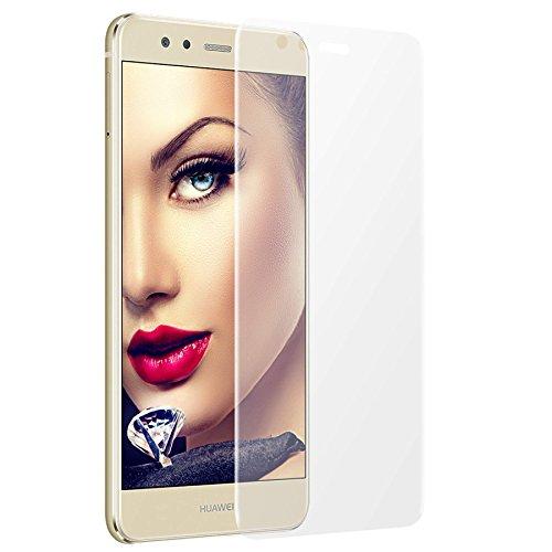 mtb more energy Gewölbtes 3D Schutzglas für Huawei P10 Lite (5.2'') - transparent - flexibel - TPU Silikon Case Cover Tasche - 9H - 2.5D - Curved Full Display Glasfolie