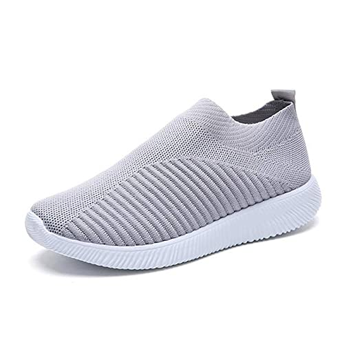 N\C Calzado Deportivo para Mujer Calzado Casual Transpirable de Moda para Mujer Calzado Deportivo Ligero de Verano Calzado para Correr para Mujer Blanco Calzado Deportivo para Mujer