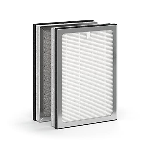 Medify MA-25 Genuine Replacement Filter   for Smoke, Smokers, Dust, Odors, Pet Dander   3 in 1 with...