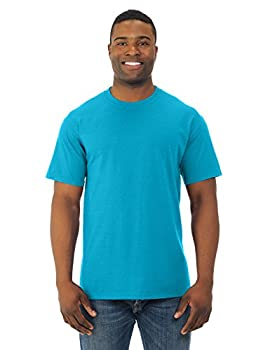 Fruit of the Loom 5 oz 100% Heavy Cotton HD T-Shirt  3931  Turquoise Heather 3XL