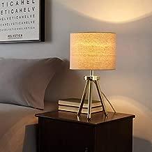 Urban Shop Tripod Table Lamp, Gold