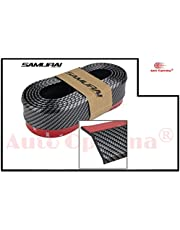 Auto Oprema Samurai Carbon Fiber Car Body Kit Bumper Lip Side Skirt Rubber Edge Decorative Protector