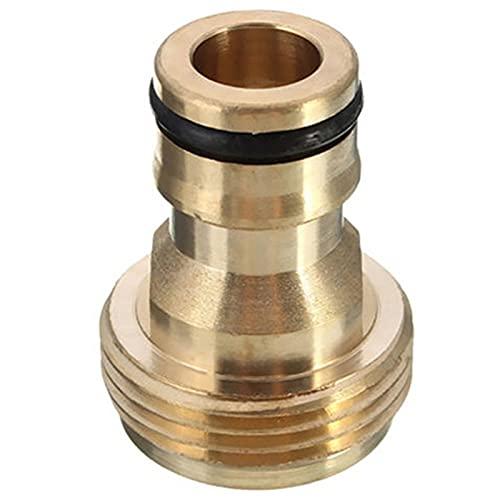 Conector Adaptador de Conector de Grifo roscado Universal, Adecuado para Conector de Grifo de Cocina de Grifo, Conector de Manguera mezcladora para Adaptador de Grifo (Color : 1)