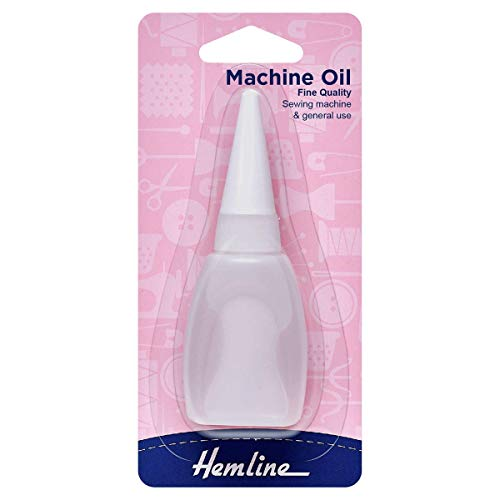 Hemline Machine Oil for Sewing Machines 20ml (3/4 Fl Oz)
