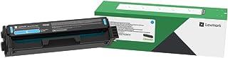 Lexmark C331HC0 H Cyan High Yield Return Program Print Cartridge