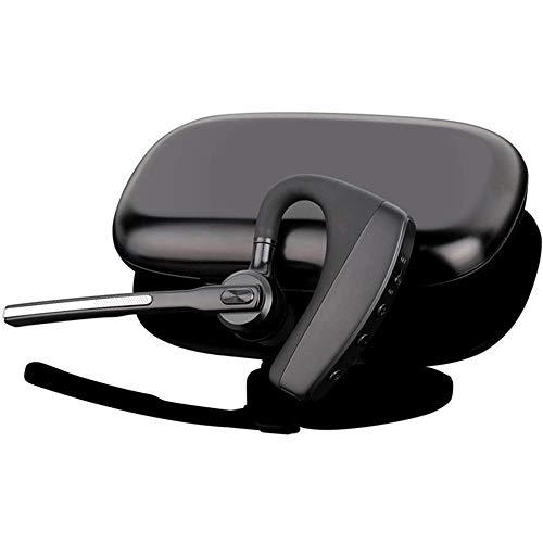 Bluetooth Headset 5.0 für Handy einseitig zum Telefonieren mit Mikrofon Videokonferenz iPhone 11 8 X XS 7 6s Plus Samsung Galaxy S20 S10 S9 S8 a40 Huawei P30 P20 einohr ipx Auto - happyset Super Plus