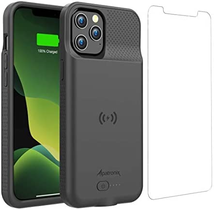 Battery Case for iPhone 12 Pro Max 6000mAh Slim Portable Protective Extended Charger Cover with product image