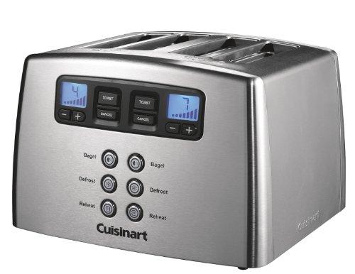 Toaster motorisé 4 tranches