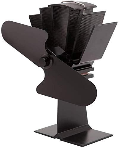 NAYY 2 Klingen Herd Fan Wärme Powered Eco Friendly for Wood Burning/Holzofen Kamin Umlaufwarmluft
