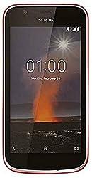 Nokia 1 (Warm Red, 1GB RAM, 8GB Storage)