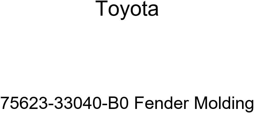 TOYOTA Genuine Max 78% OFF 75623-33040-B0 Molding Fender National uniform free shipping
