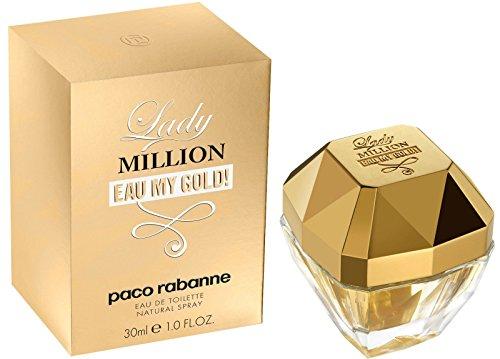 Paco Rabanne Lady Million Eau My Gold! Eau de Toilette Vaporizador 30...