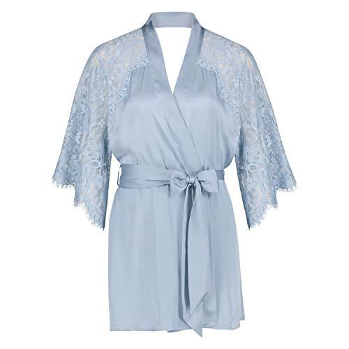 HUNKEMÖLLER Kimono Jennifer Blau M/L