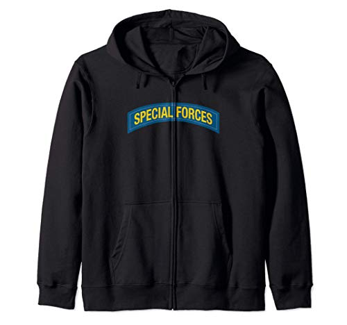 US Army Special Forces Tab Sudadera con Capucha