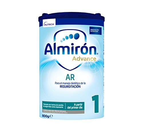 Almirón Advance AR 1 Leche de Fórmula AntiRegurgitación en Polvo a Partir Del Primer Día, 800g