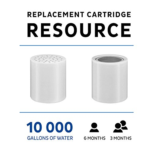 15 Stage Universal Replacement Cartridge with Vitamin C for Shower Filter - Water Softener Cartridge - Reduces Fluoride and Chloramine - Fits All the Similar Shower Filters