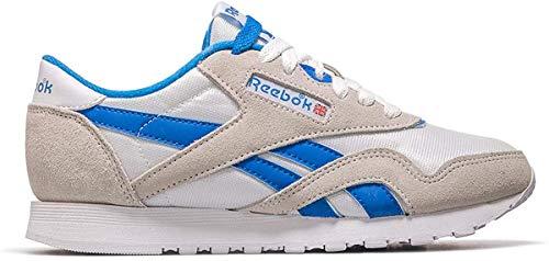 Reebok Cl Nylon, Zapatillas de Deporte para Mujer, Multicolor (Archive/White/Cycle Blue 000), 37 EU