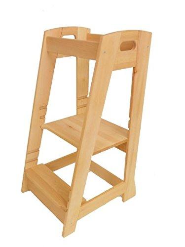 Kinderküchenhelfer 8065 Holz-Lernturm Kinderhochstand Kleine Küchen-Helfer-Turm