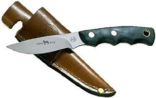 Knives of Alaska 345FG Alpha Wolf Suregrip S30V Knife