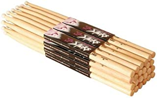 On Stage Hickory 2B Nylon Tip Drumsticks 12 Pairs