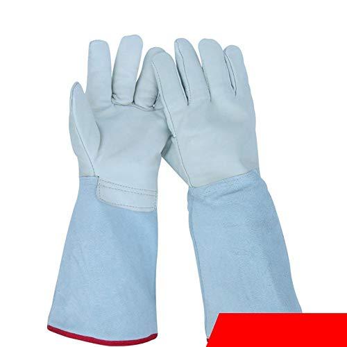 Lounayy Qian 40Cm Schutzhandschuhe Niedertemperatur Frostschutz Tragen Trockeneis Handschuhe Geeignet Style rutschfest Handschuhe Hitzebeständig Für Die Küche