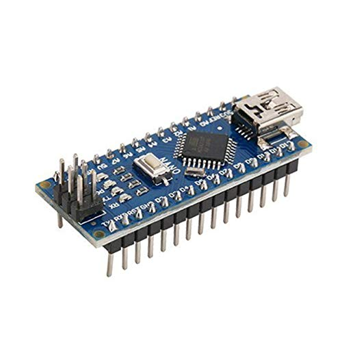 Ballylelly para Nano ATMEGA328P Mini USB con el Cargador de Arranque Compatible con el Controlador Arduino Nano V3.0 Controlador USB CH340 16Mhz