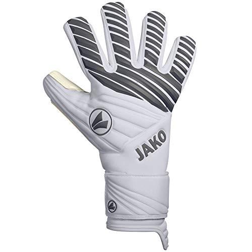 JAKO Champ Giga WCNC Torwart-handschuh, weiß/Grau, 8