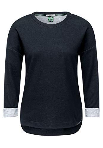 Cecil Damen 315952 T-Shirt, Carbon Grey, M