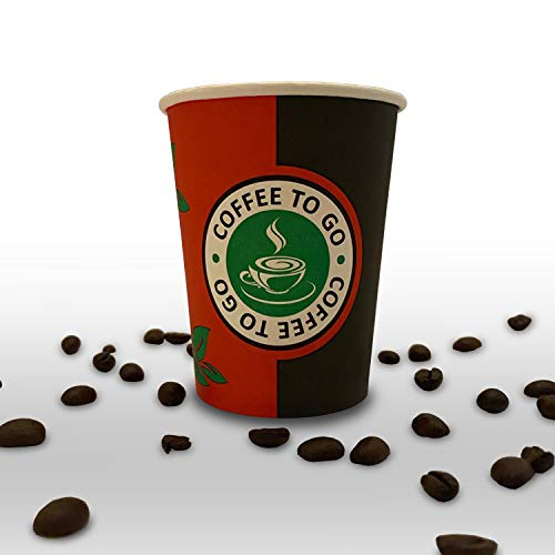 Leon 300ml Pappbecher 1000 Stk. - Kaffee - Becher - Coffee to go - Paper - Cups