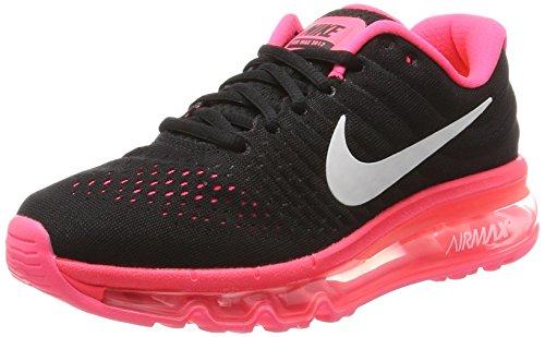 Nike Air Max 2017 GS, Scarpe da Corsa Bambina, Rosa (Black/White/Racer Pink/Hot Punch), 38.5 EU