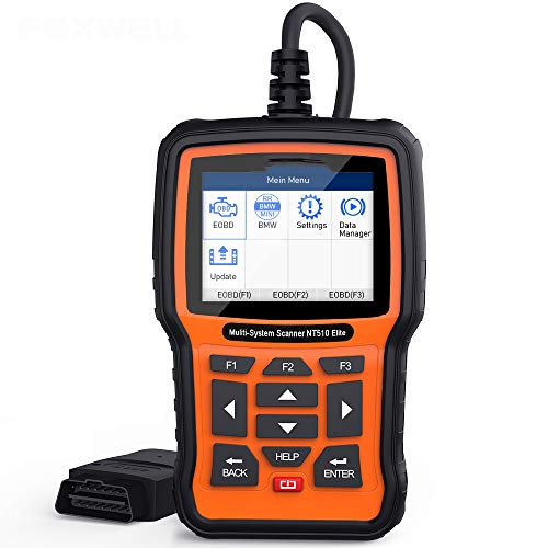 Affordable SHIJING The System-Wide NT510 Elite OBD2 Automotive Diagnostic Tool ABS airbag SRS EPB Oi...